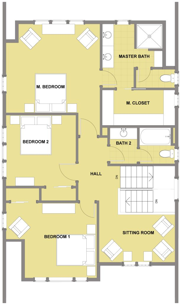 17 best images about small houses on pinterest house for Small house design 2nd floor