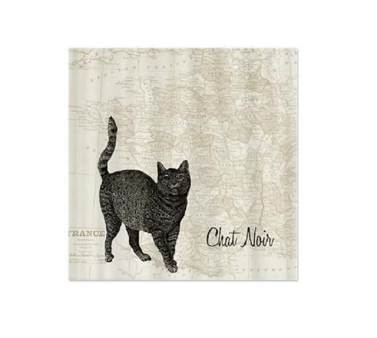 122 best Cat Shower Curtains images on Pinterest | Shower curtains ...