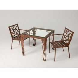 Mesa de jardín Estepona -  mesas de forja para jardín-  mesas de forja originales