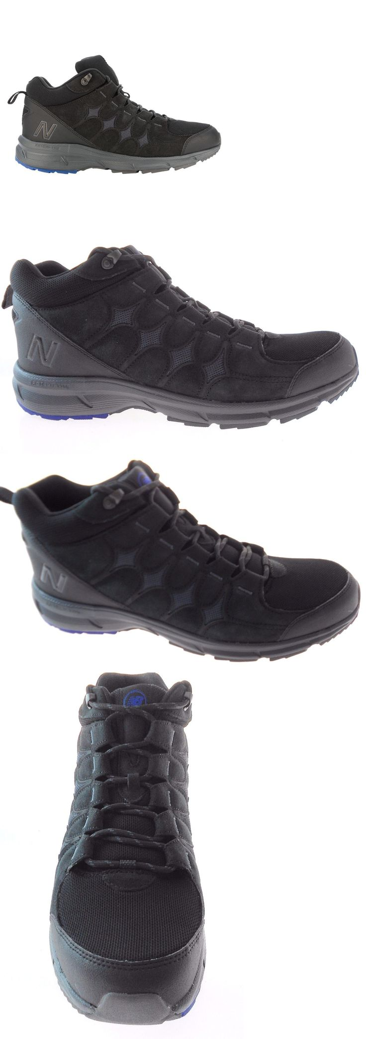 Mens 181392: New Balance Mw899bk Men S Black Outdoor Walking Boots Size 9.5 New!! -> BUY IT NOW ONLY: $45 on eBay!