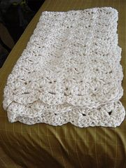 Ravelry: Speed Hook Shell Afghan pattern by Lion Brand Yarn