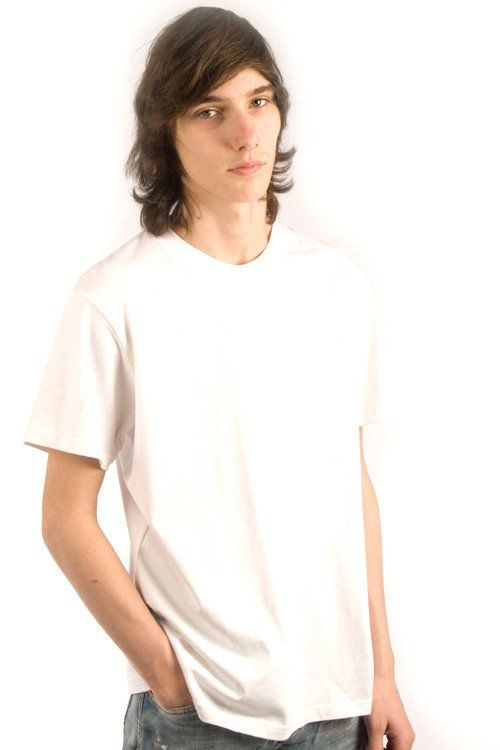 Parasuco White Embroidered Chimera Short Sleeve 9-MICELI Crew Neck Tee…