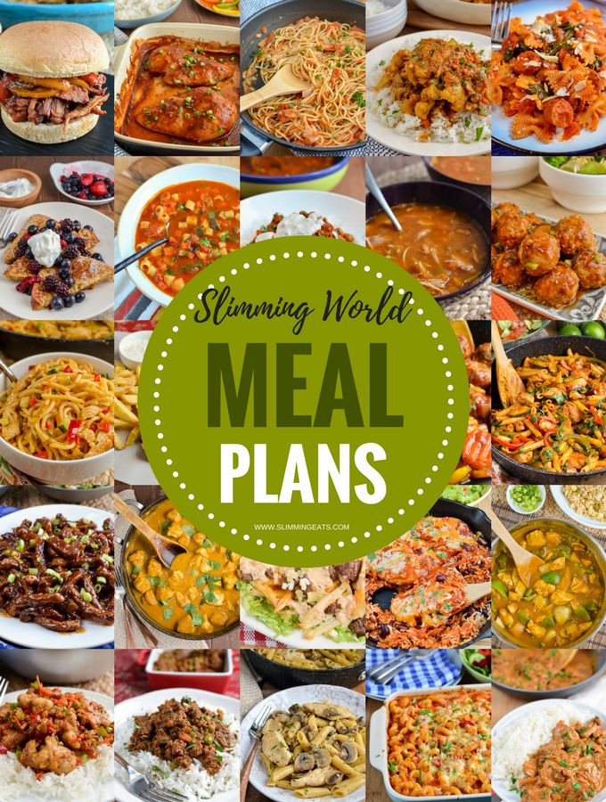 Take the hard work out of meal planning with these amazing 7 Day Extra Easy Slimming World Meal Plans. All you have to do is cook and enjoy the delicious food.