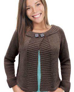 Knit One Crochet Too Winter Urbana Cardigan Pattern