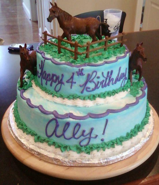 Horse Birthday Cake Images