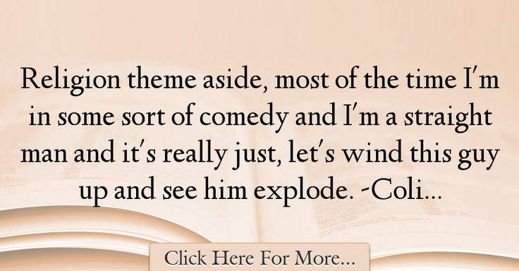 Colin Hanks Quotes About Religion - 59280