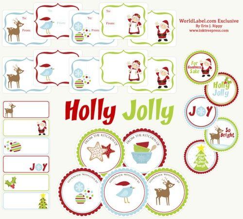 adorable free Christmas printables: Christmas Labels, Printable Labels, Free Christmas, Gifts Tags, Christmas Tags, Free Printable, Printable Christmas, Christmas Printable, Christmas Gifts