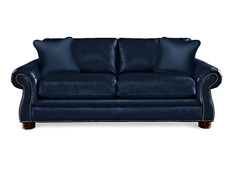 Pembrook Sofa From Lazyboy In Ultramarine Available At Moore 39 S Furniture In Eagle Limerick Pa