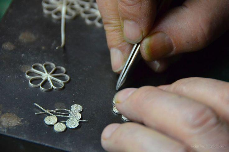 Filigree Making Process Split Croatia Jeweler - jewelry, contemporary, bracelets, wedding, bracelets, homemade jewellery *ad