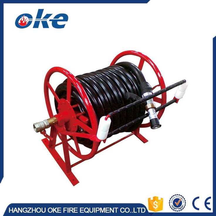 Self-retracting Fixed Fire / Garden Hose Reel