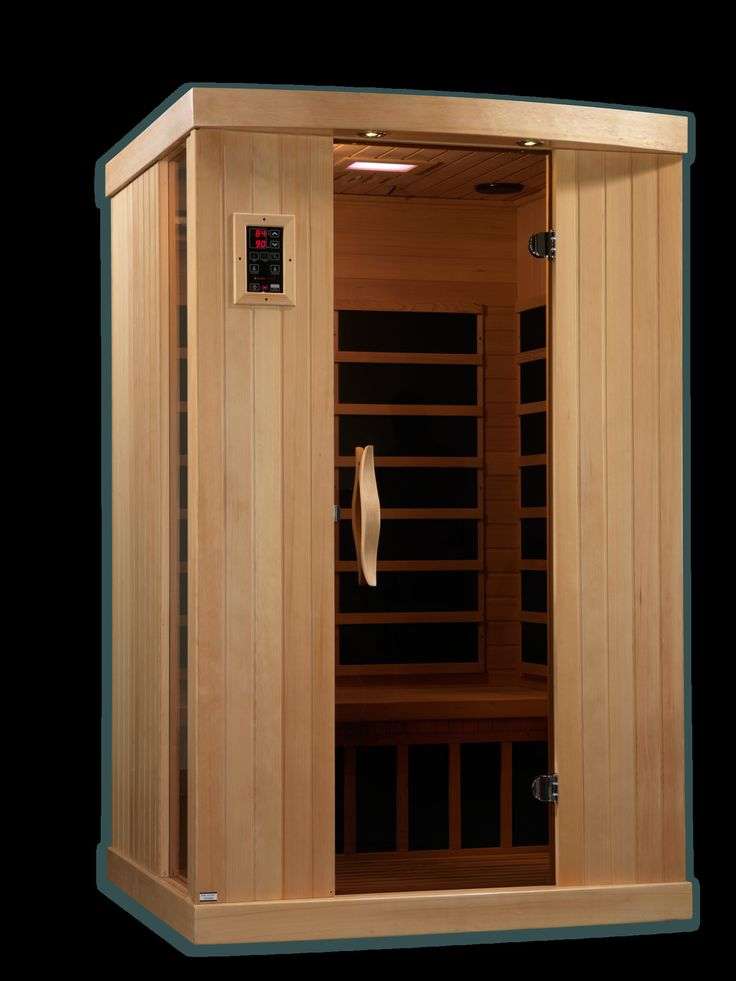 Puretech low emf person ir carbon far infrared sauna for Sauna in casa