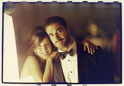 Wedding couple - Foto de los novios en fiesta de boda Edward Olive photographer fotógrafo photographe Fotograf