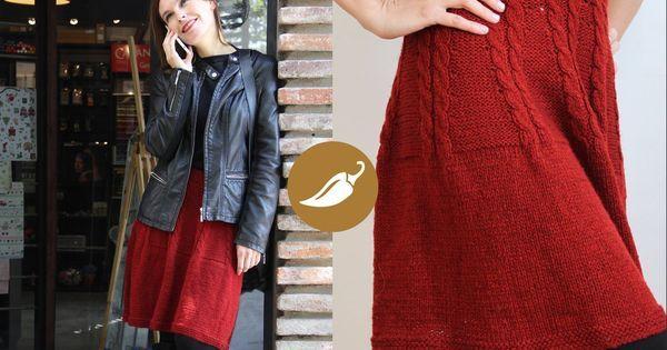 Falda diseñada y tejida por Andenhands para AJÍ, Diseño Imprescindible | Ropa femenina | Pinterest