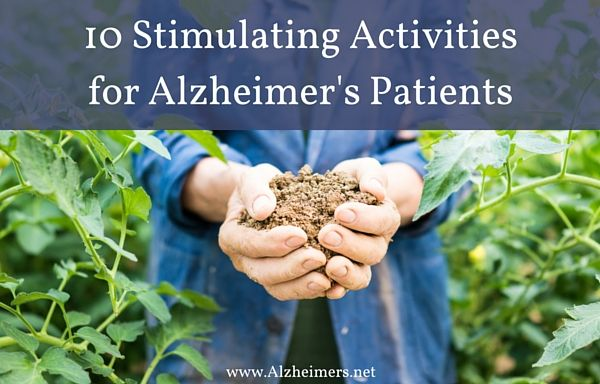 What are some activity or game ideas for Alzheimer's Patient?