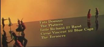 The movie was the first rock 'n' roll musical to be made in wide-screen and colour, by a major director (Frank Tashlin). Even the credits showed off the new Cinemascope process.