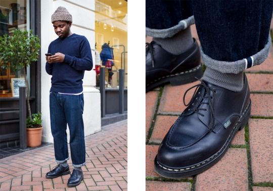 Monsieur Hulot #paraboot #denim #menswear