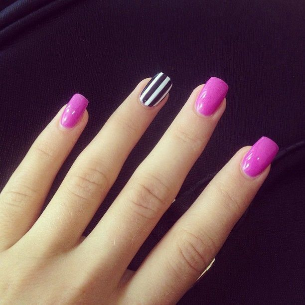 Concrete And Nail Polish Striped Nail Art: Best 20+ Striped Nail Art Ideas On Pinterest—no Signup