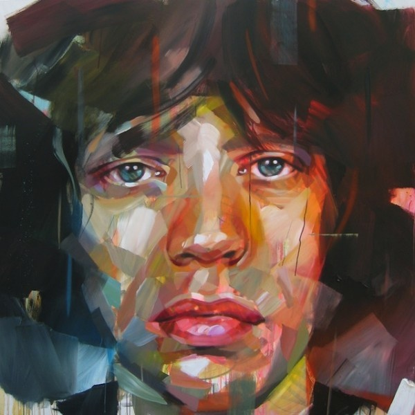 Dynamic Paintings by Pascal Vilcollet