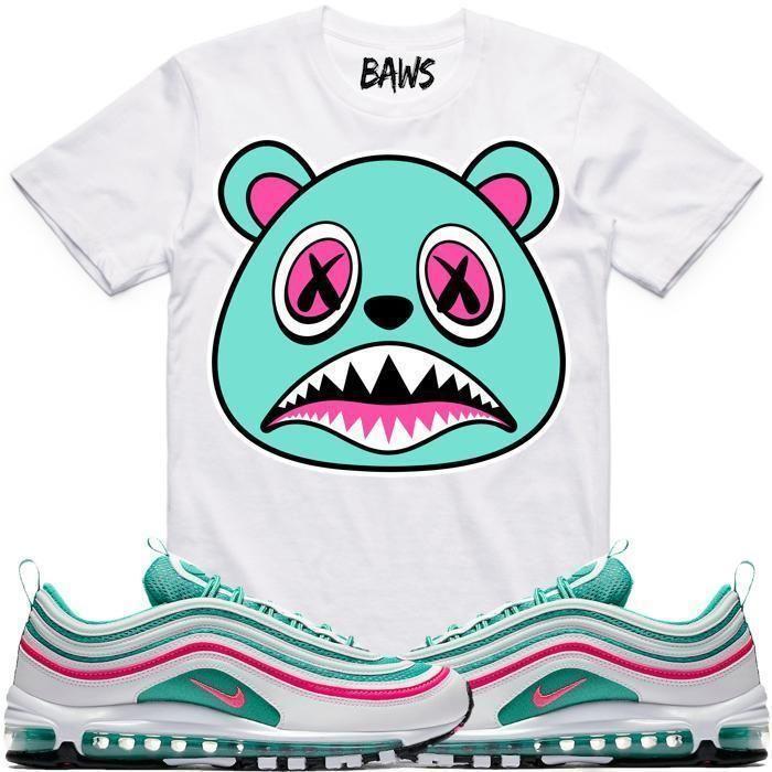 25ba86b9cb0e SOUTH BEACH BAWS Sneaker Tees Shirts - Air Max 97 in 2019   Stuff to ...