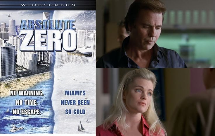 Absolute Zero (2006) After the planet shifts 90 degrees the world is plunged in to a new ice age but never fear Erika Eleniak & Jeff Fahey will save the day