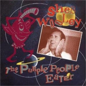 "Radio XVI, side B, track 11: ""The Purple People Eater"" by Sheb Wooley:  Oh, Sheb Wooley, you can't go wrong with singing ""The Purple People Eater"".  Here's the thing that I've always wondered about, though, Sheb Wooley:  sure, this is a novelty song, but at the end of the day, this swingin' creature from parts unknown eats people.  Yeah, they're purple people, but still."