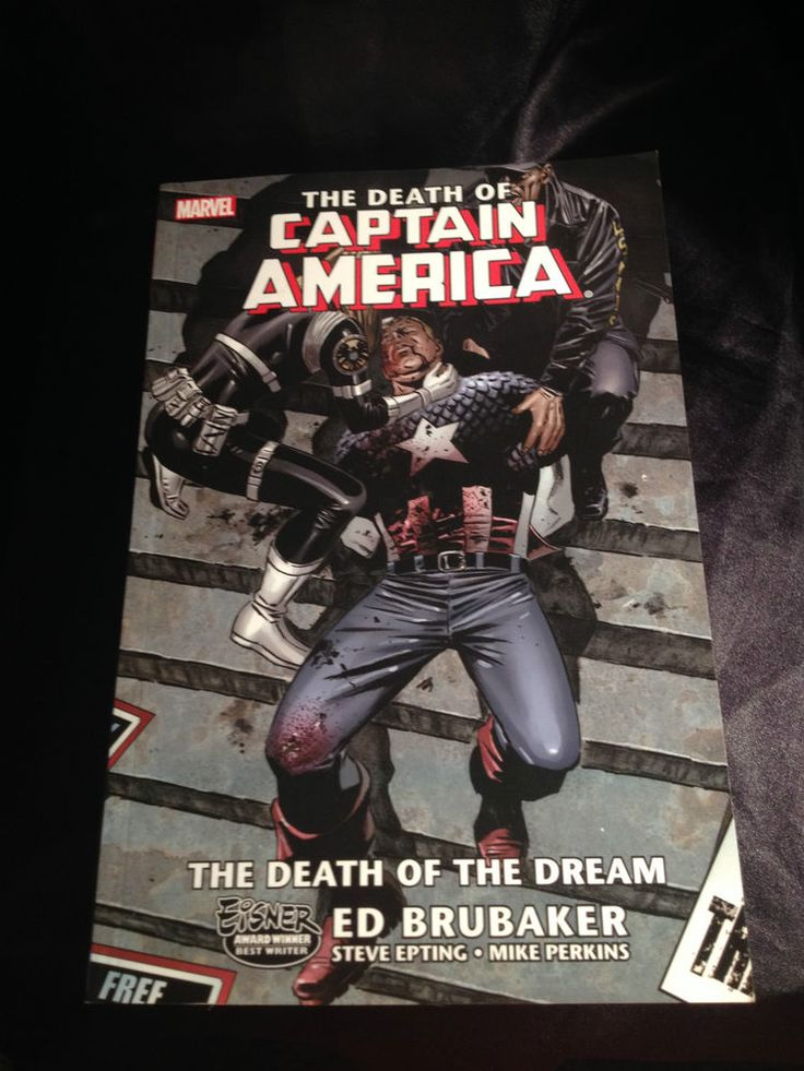 The Death of Captain America vol 1: The Death of the Dream. Marvel Graphic Novel