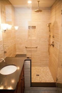 Seta Porcelain & Pebble Series with Design Build Pros of NJ modern bath products