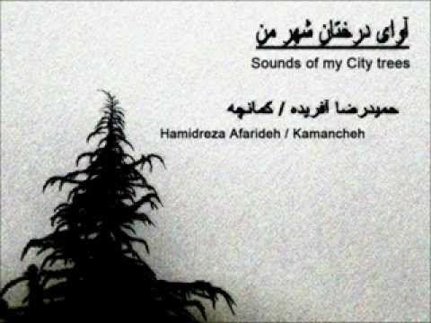 آوای درختان شهر من Sounds of my City trees  نوازنده کمانچه و آهنگساز : حمیدرضا آفریده  Composer & kamancheh player :  Hamidreza Afarideh  www.HamidrezaAfarideh.com