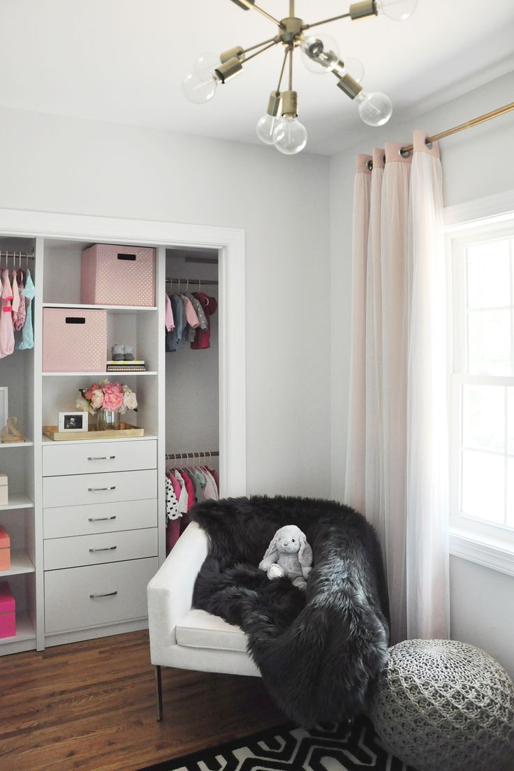89 best Nursery + Kid Room Closets images on Pinterest | Closet ...