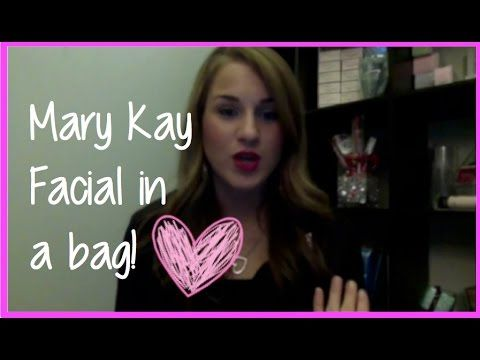 """How to Pack & Share a """"Mary Kay Facial in a Bag"""" - YouTube"""