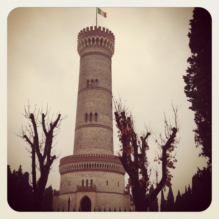 San Martino della Battaglia - Italy.   The Tower on the battlefield