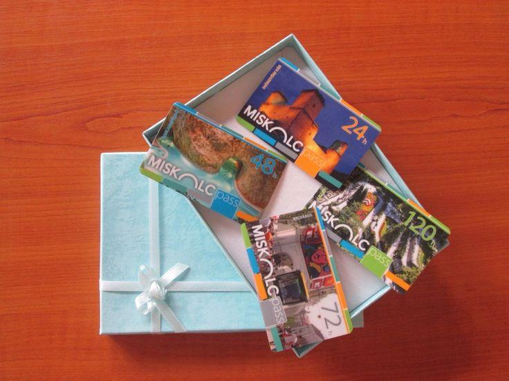 The best present - many adventure, but one card! Miskolc Pass Tourist card