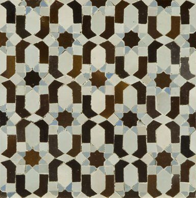 Moorish Tiles = Handmade tiles can be colour coordinated and customized re…