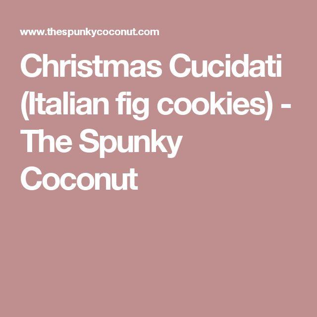 Christmas Cucidati (Italian fig cookies) - The Spunky Coconut