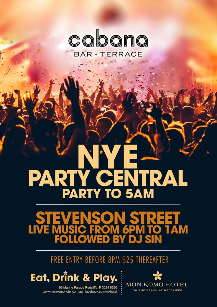 Party central at Mon Komo Hotel Cabana Bar!