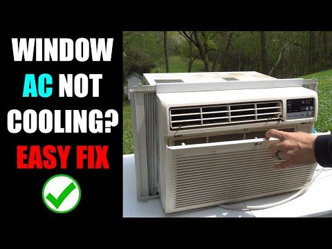 Window Air Conditioner Not Cooling And The Most Common Fix
