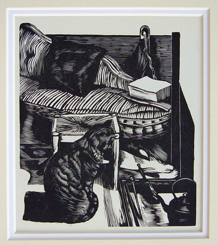 John Nash R.A. (1893-1977). Cat. 1946. (wood engraving). He served with The Artists Rifles in WWI.