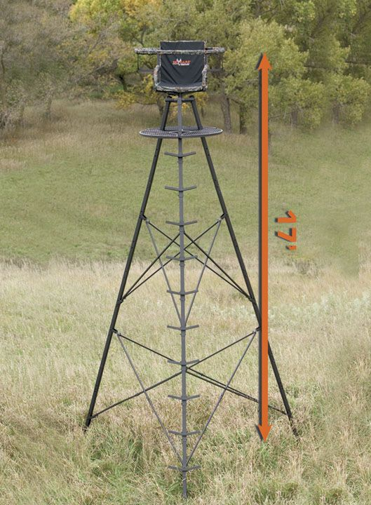25 best ideas about tripod deer stand on pinterest for Climbing tree stand plans