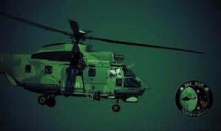 """Νυκτερινή επιχείρηση διάσωσης απο Super Puma ασθενούς στο Ιστιοφόρο /MEDEVAC from """"Soerlandet"""" (Video)"""