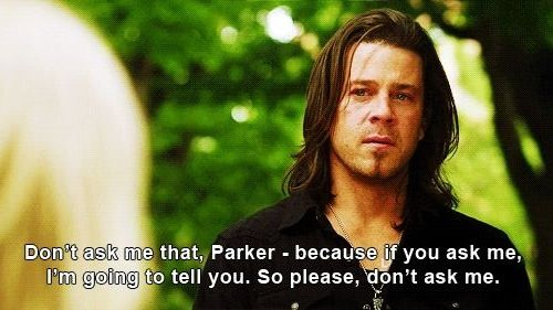 When eliot reveals a terrible thing... A sad moment for leverage