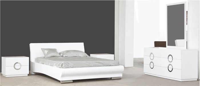 wh eddy white lacquer bedroom set miami and aventura contemporary and