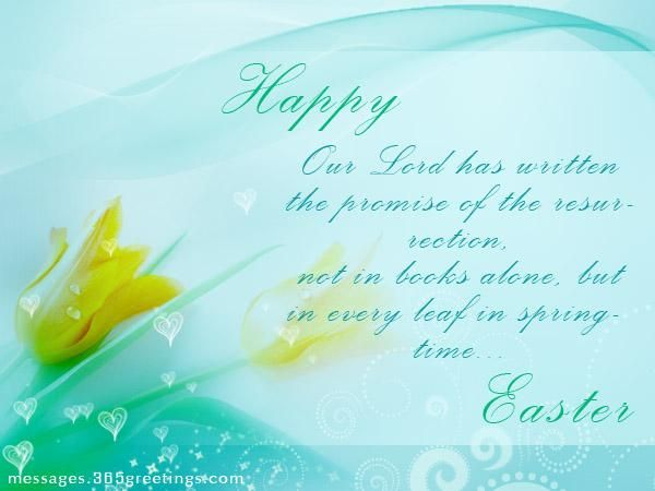 Easter Greeting Card Messages - Messages, Wordings and Gift Ideas
