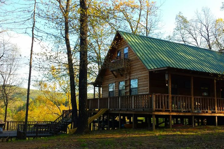 Entire home/apt in Caddo Gap, US. Enjoy a peaceful, secluded Cabin In The Woods experience on the South Fork of the Caddo River. This 80+ acre property is yours to explore with no other homes or cabins on the property. The property extends on both sides of the river with 1200' o...