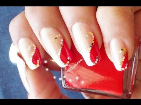 Sexy red nails - http://www.nailtech6.com/sexy-red-nails-2/