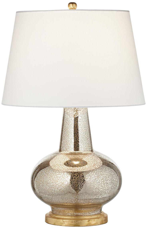 Stacked elephant lamp - Errol Long Neck Gourd Mercury Glass Table Lamp