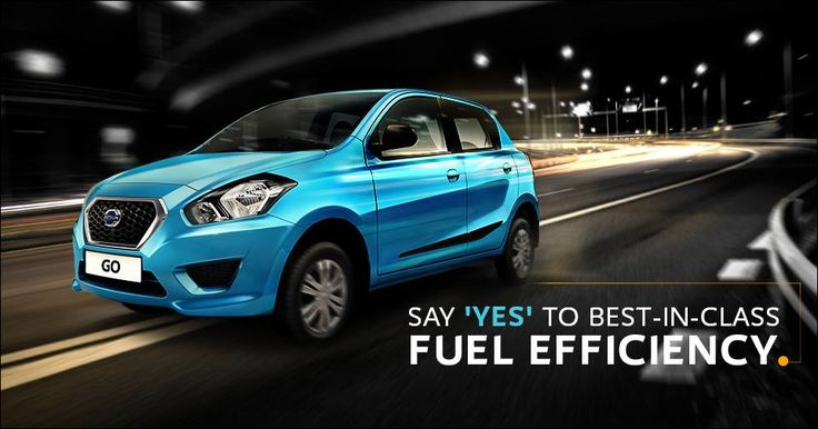 Say 'YES' to Best-in-class Fuel Efficiency. For More :- https://goo.gl/cMHAo5 #Datson #DatsonCar #FamilyCars #ReadyGo