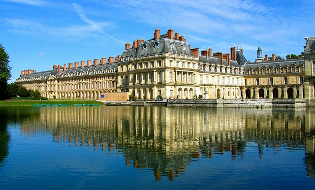 The Chateau de Fontainebleau, one of the most famous castles in France
