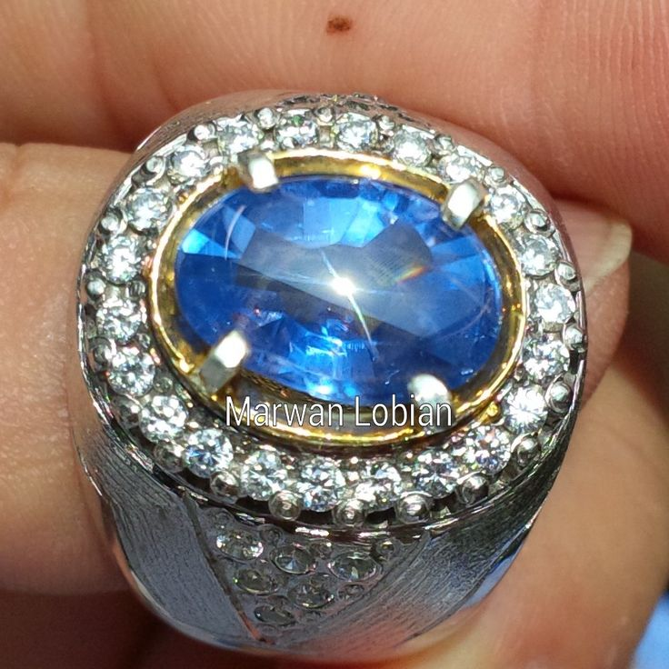 Blue Sapphire Star 4.6 cts - 11.63 x 8.18 x 5.28mm  #sapphire