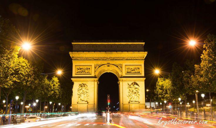 Arc De Triomphe Paris www.krystlescorner.com