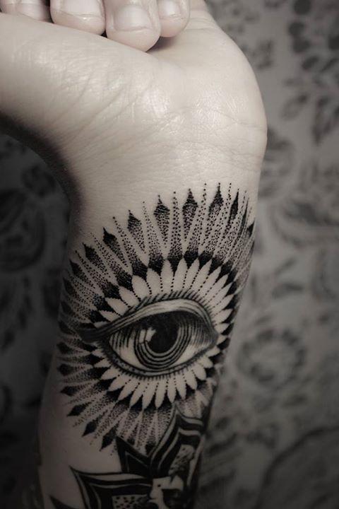 stippling / sketch / stencil / black-white